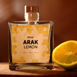 Arak-snaps, Lemon