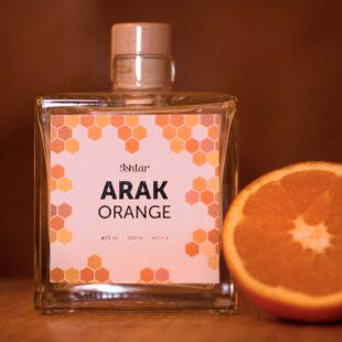 Arak-snaps, Orange
